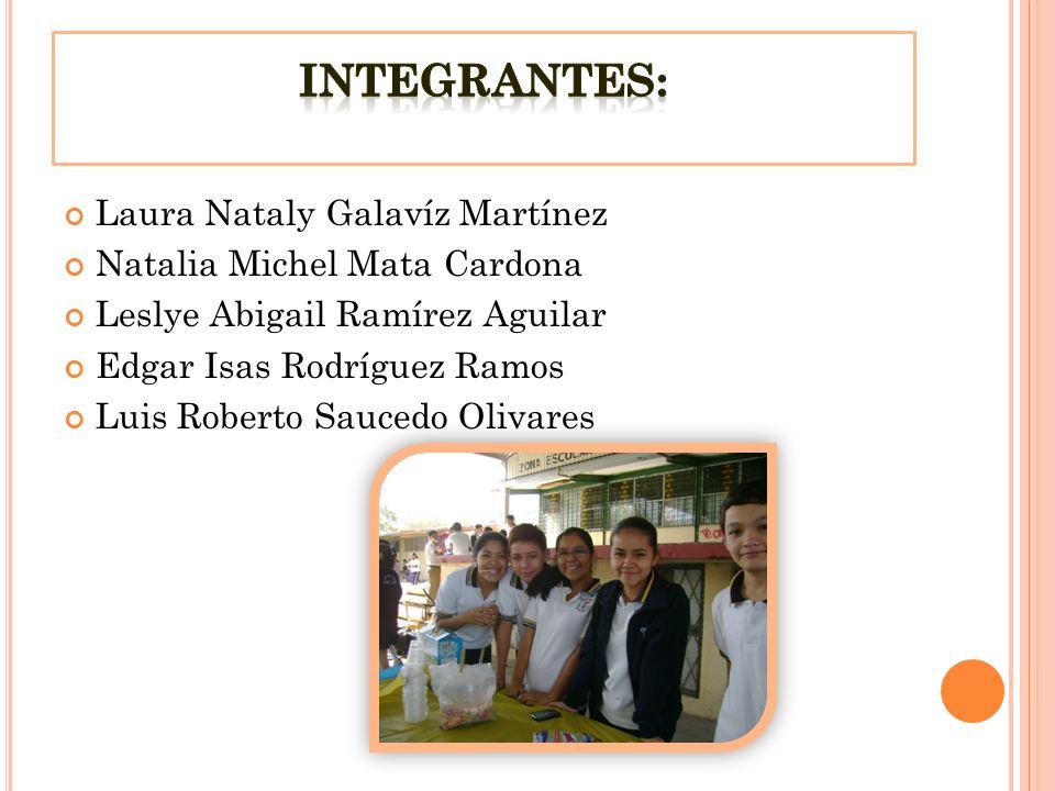 Integrantes: Laura Nataly Galavíz Martínez Natalia Michel Mata Cardona