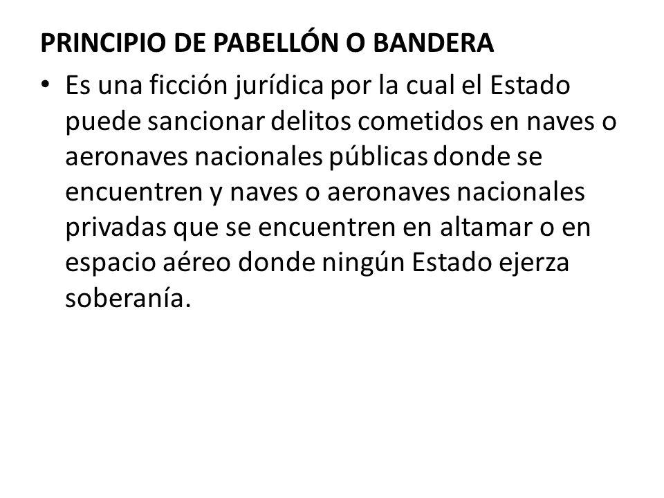 PRINCIPIO DE PABELLÓN O BANDERA