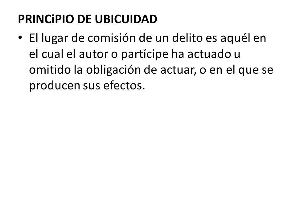 PRINCiPIO DE UBICUIDAD
