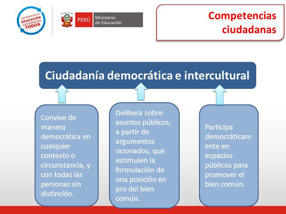 Ciudadanía democrática e intercultural