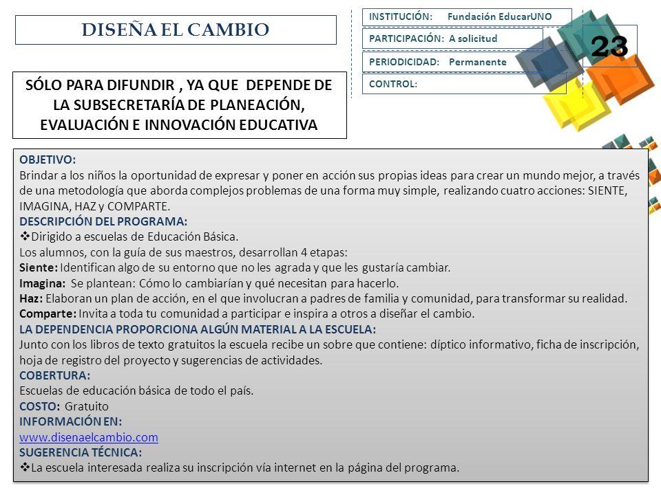 INSTITUCIÓN: Fundación EducarUNO