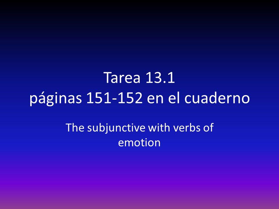 Tarea 13.1 páginas 151-152 en el cuaderno