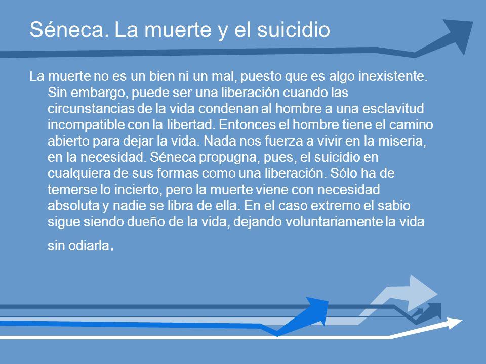 Séneca. La muerte y el suicidio
