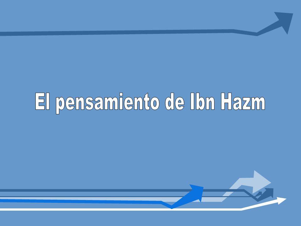 El pensamiento de Ibn Hazm