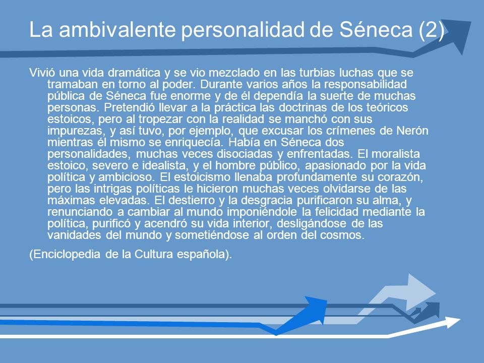 La ambivalente personalidad de Séneca (2)