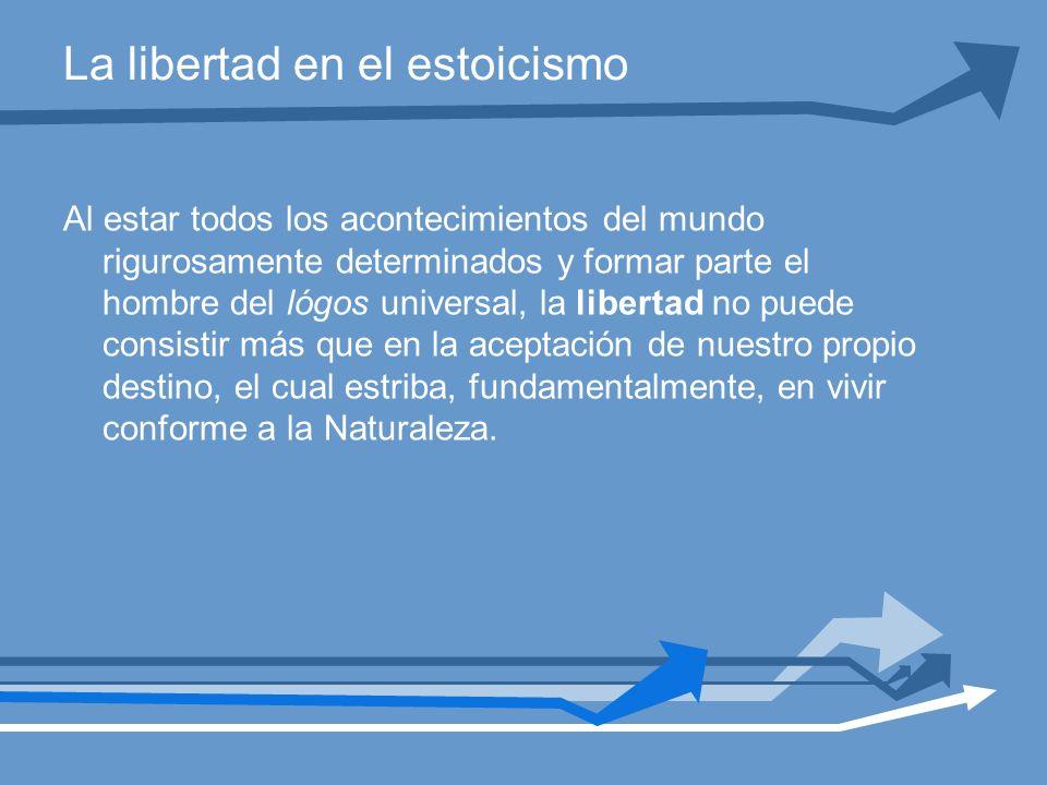 La libertad en el estoicismo