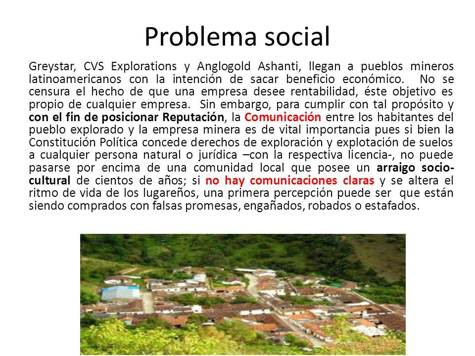 Problema social