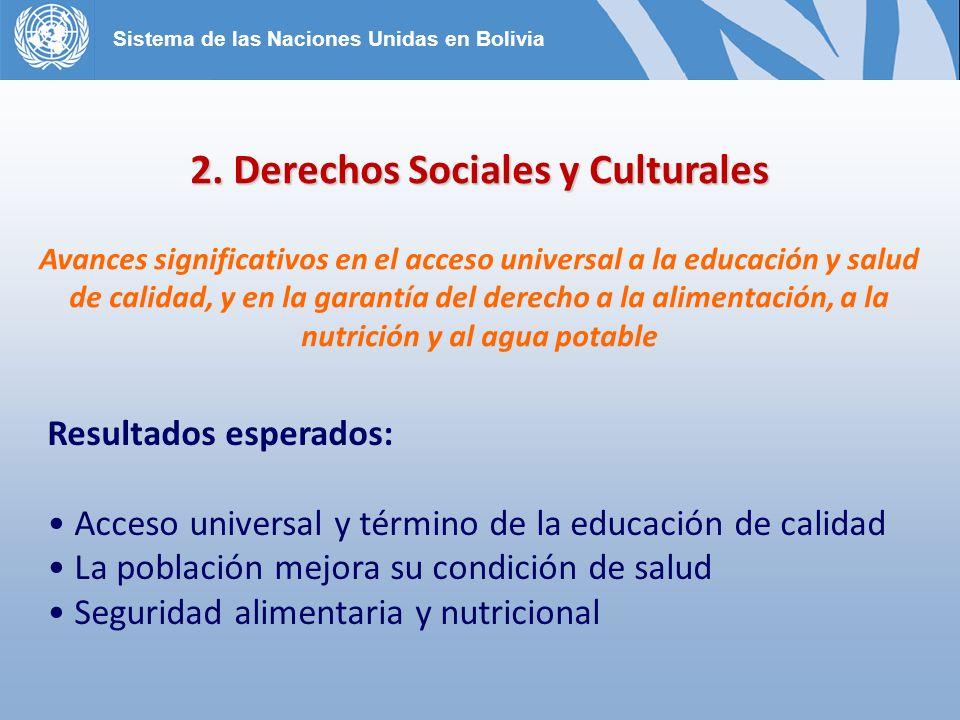 2. Derechos Sociales y Culturales