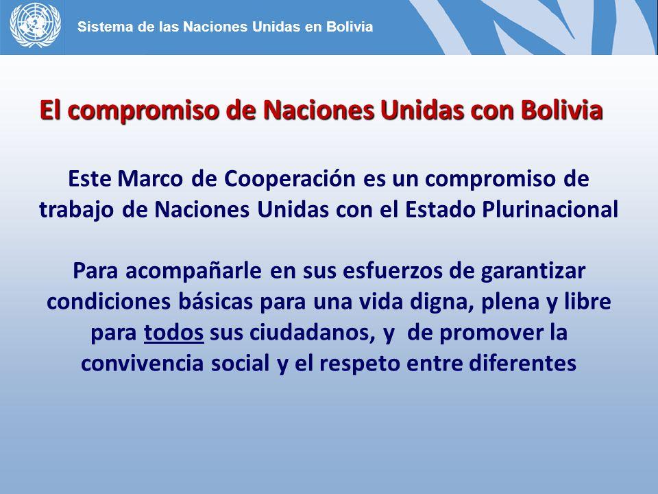 El compromiso de Naciones Unidas con Bolivia