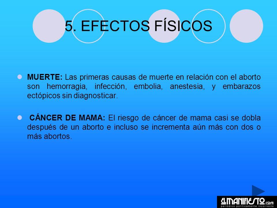 5. EFECTOS FÍSICOS