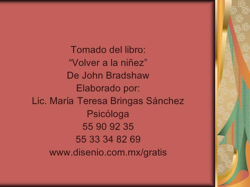 Lic. María Teresa Bringas Sánchez