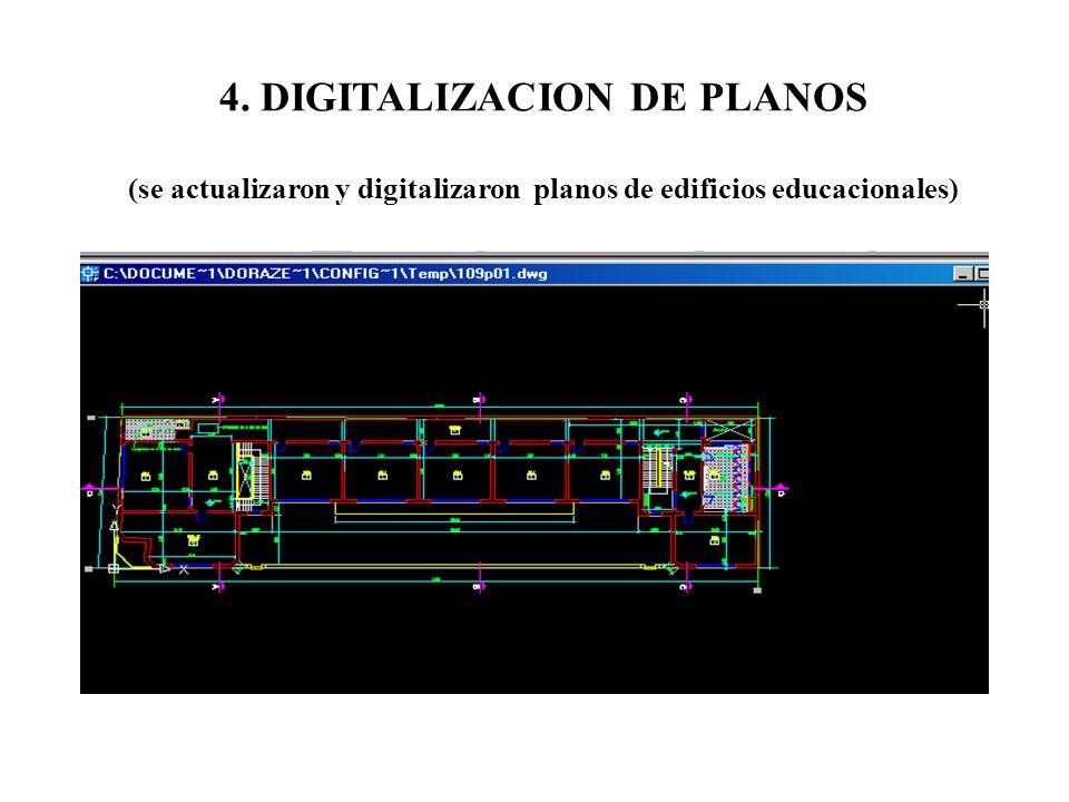 4. DIGITALIZACION DE PLANOS