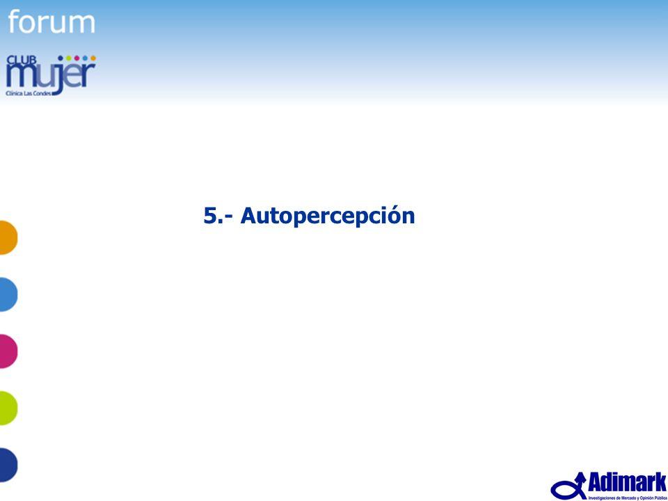 5.- Autopercepción
