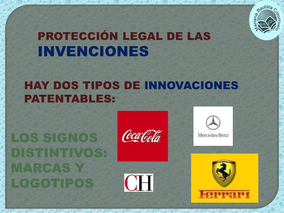 LOS SIGNOS DISTINTIVOS: MARCAS Y LOGOTIPOS