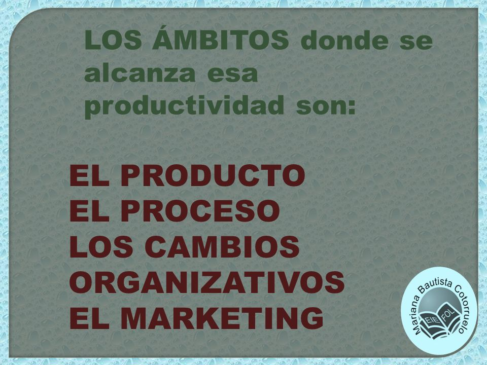 LOS CAMBIOS ORGANIZATIVOS EL MARKETING
