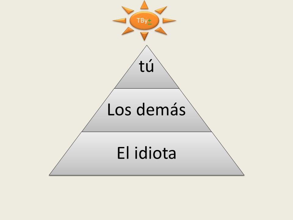 TBy+ tú Los demás El idiota