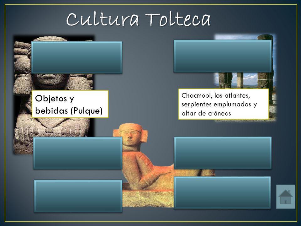 Cultura Tolteca Ubicación Algunas esculturas Tula Hidalgo