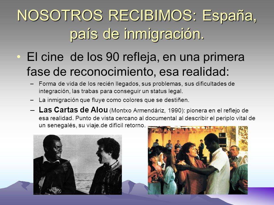 NOSOTROS RECIBIMOS: España, país de inmigración.