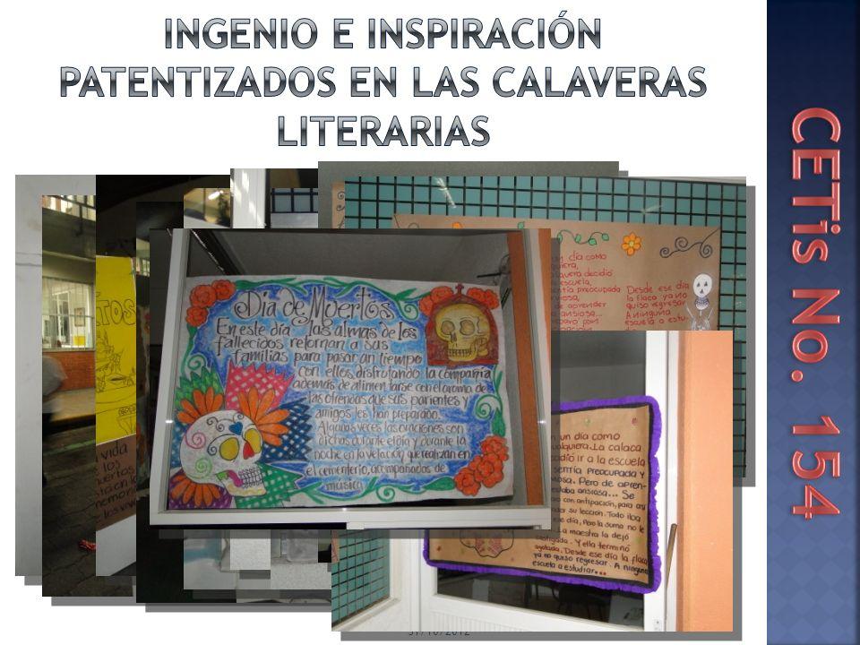 Ingenio E INSPIRACIÓN patentizados en las CALAVERAS LITERARIAS