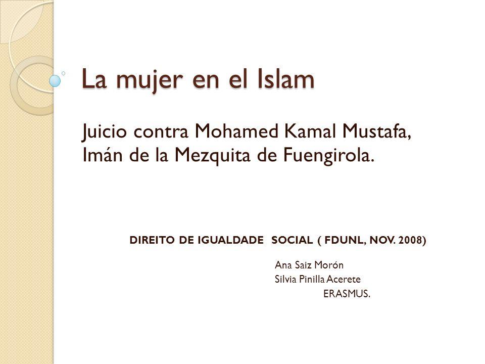La mujer en el Islam Juicio contra Mohamed Kamal Mustafa,