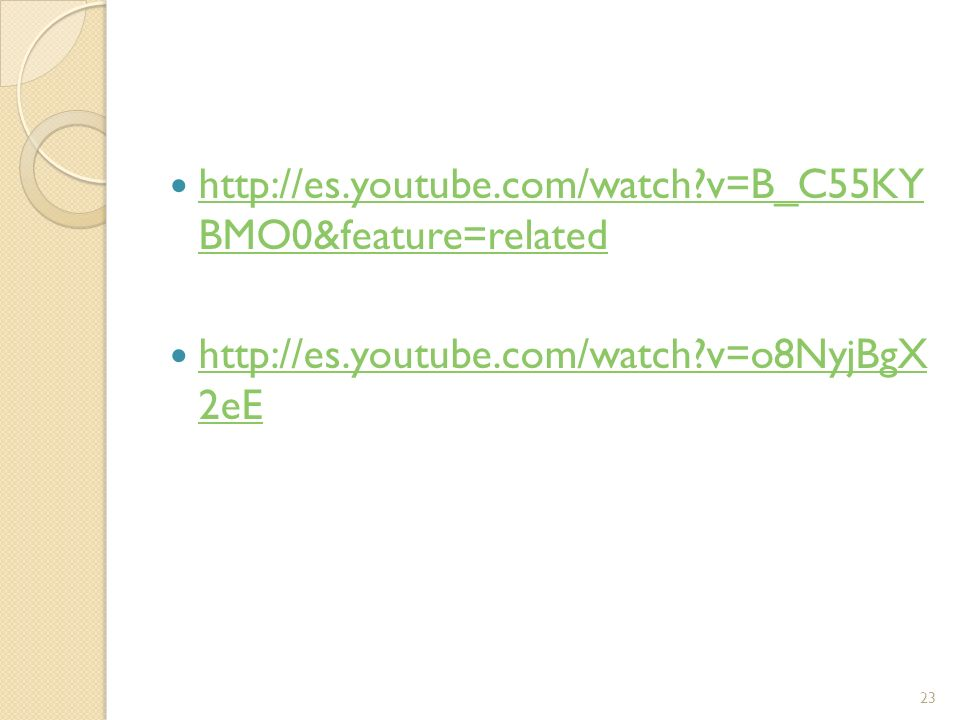 http://es.youtube.com/watch v=B_C55KY BMO0&feature=related