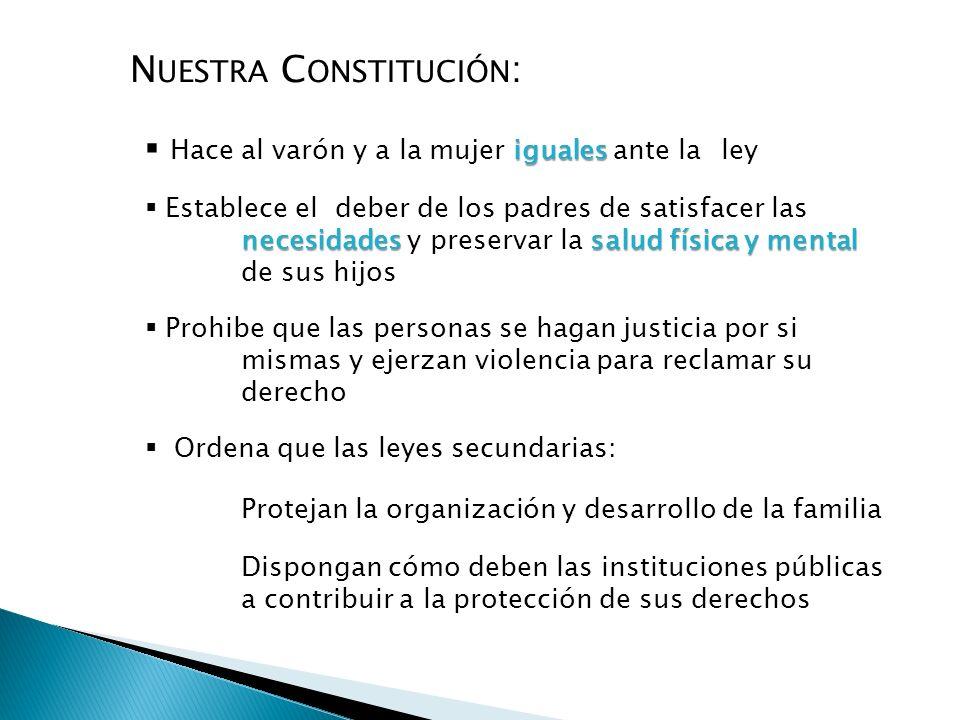 Nuestra Constitución: