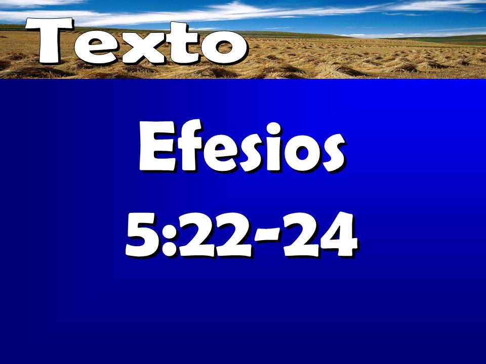 Texto Efesios 5:22-24