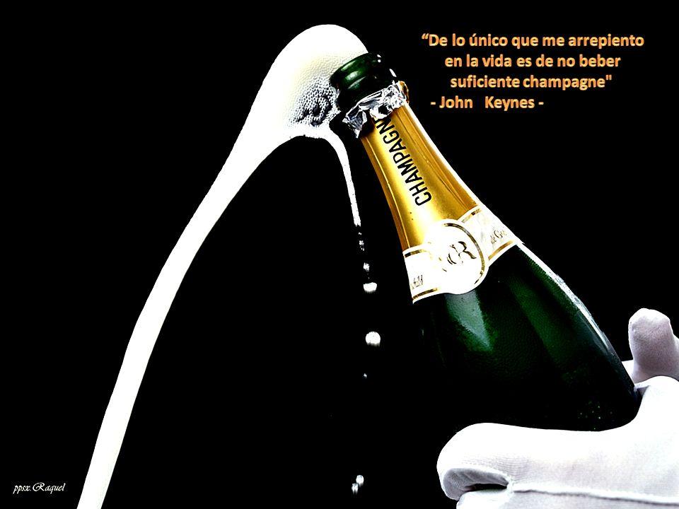 De lo único que me arrepiento en la vida es de no beber suficiente champagne