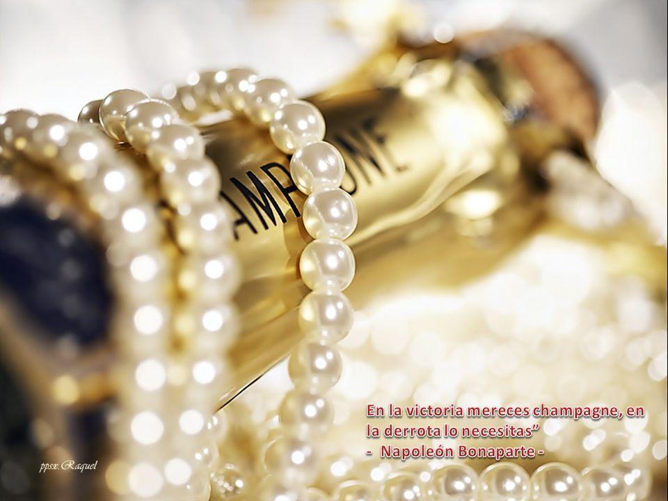 En la victoria mereces champagne, en la derrota lo necesitas