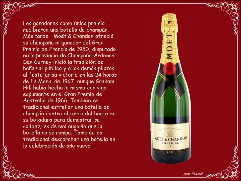 Los ganadores como único premio recibieron una botella de champán