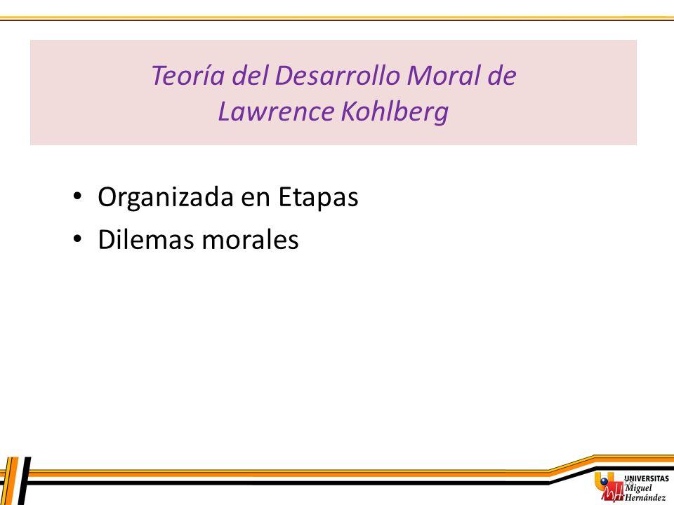 Teoría del Desarrollo Moral de Lawrence Kohlberg