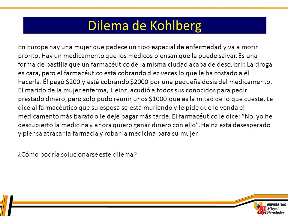 Dilema de Kohlberg