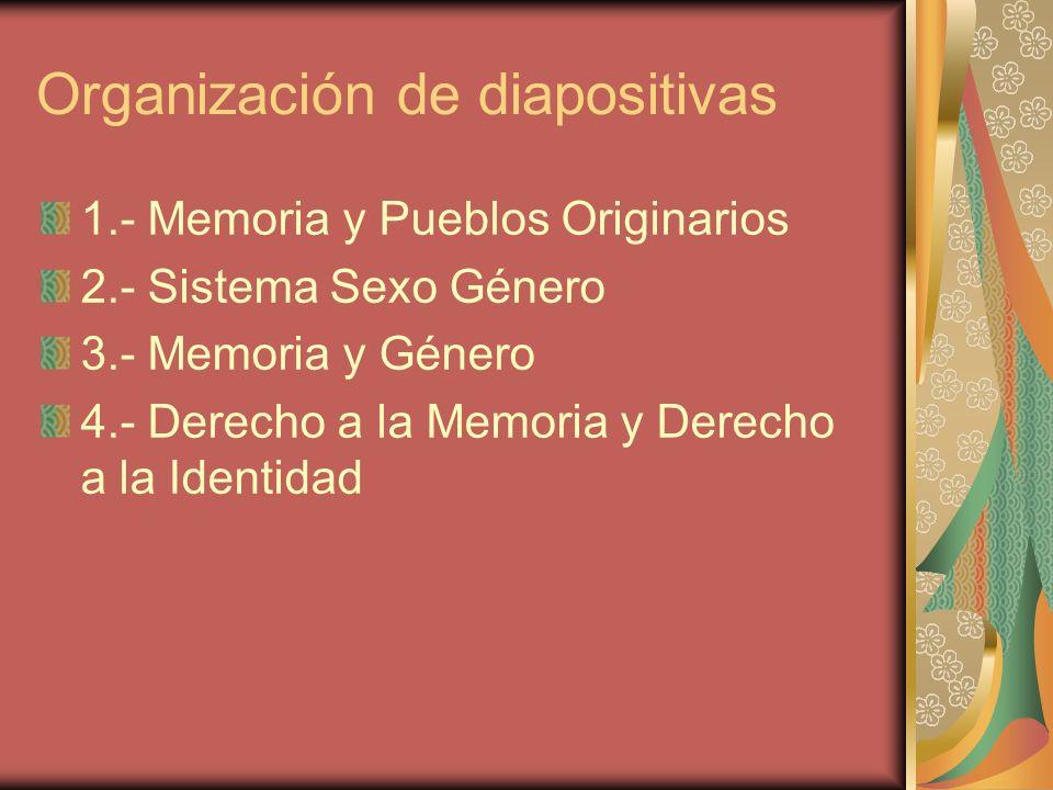 Organización de diapositivas