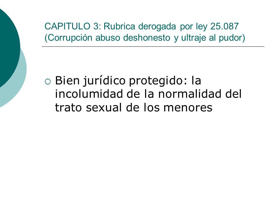 CAPITULO 3: Rubrica derogada por ley 25