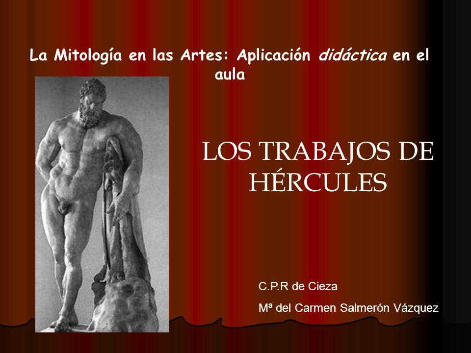 La Mitología en las Artes: Aplicación didáctica en el aula