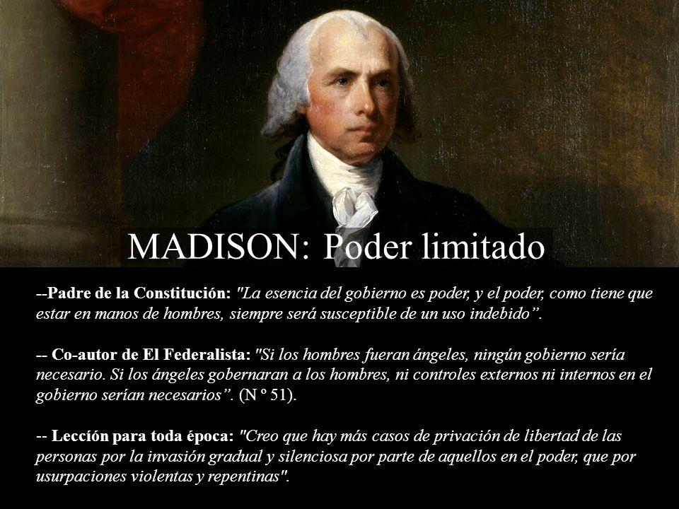 MADISON: Poder limitado