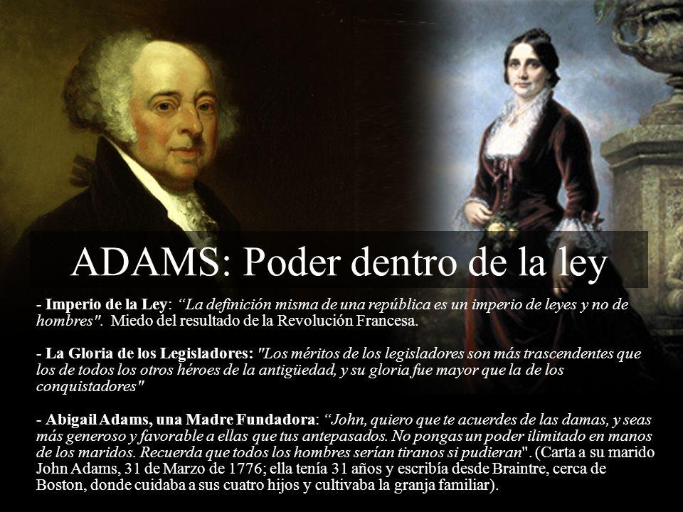ADAMS: Poder dentro de la ley