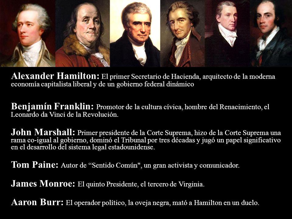 Alexander Hamilton: El primer Secretario de Hacienda, arquitecto de la moderna economía capitalista liberal y de un gobierno federal dinámico