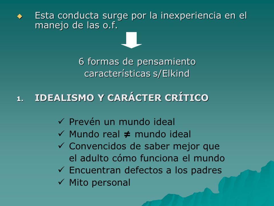 características s/Elkind
