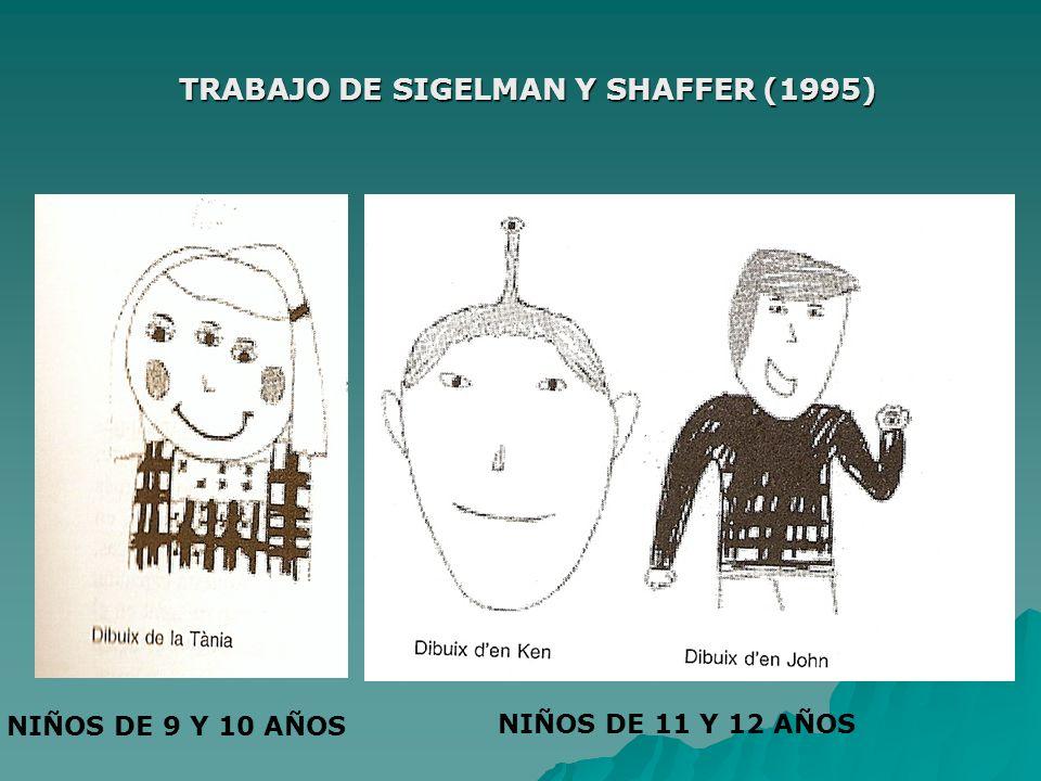 TRABAJO DE SIGELMAN Y SHAFFER (1995)