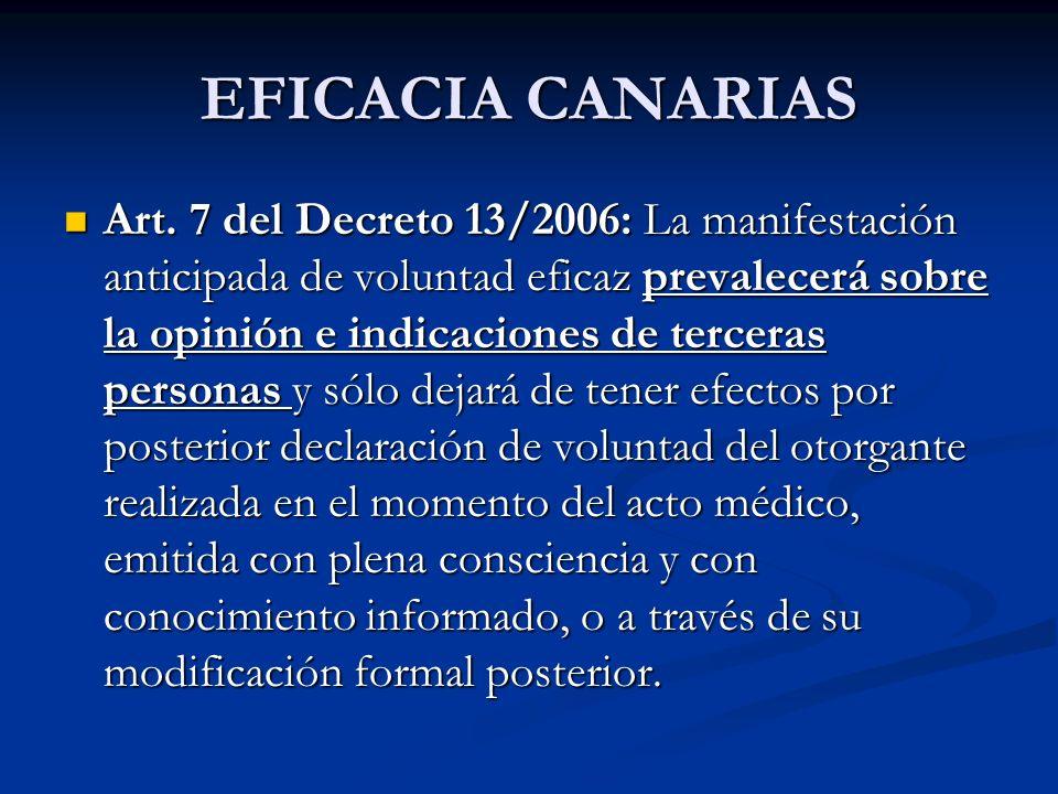 EFICACIA CANARIAS