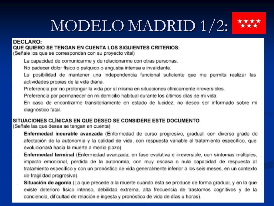 MODELO MADRID 1/2: