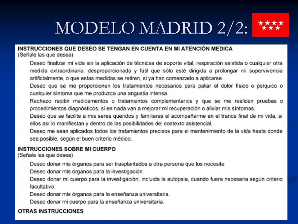 MODELO MADRID 2/2:
