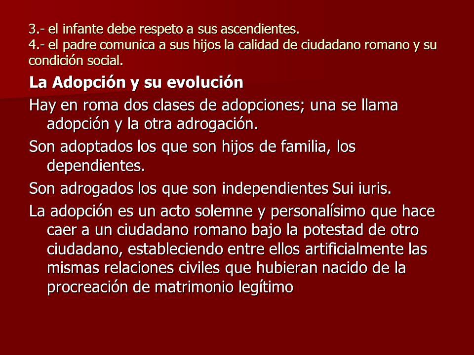 La Adopción y su evolución