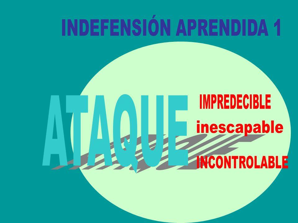 INDEFENSIÓN APRENDIDA 1