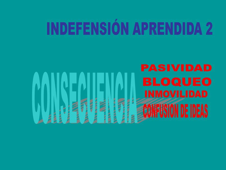 INDEFENSIÓN APRENDIDA 2