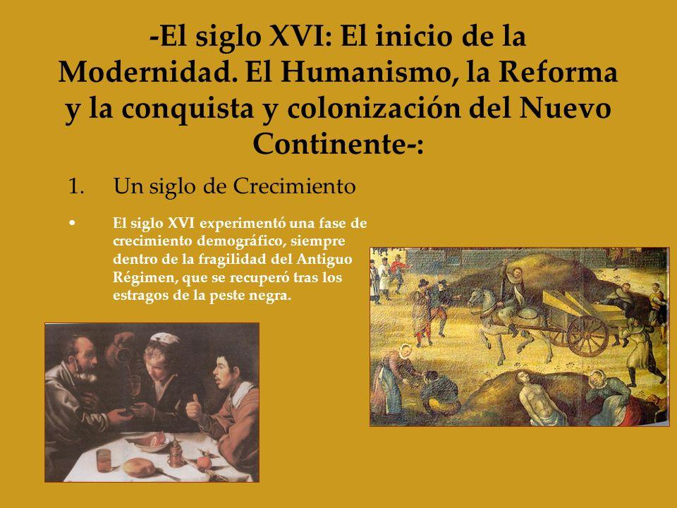 -El siglo XVI: El inicio de la Modernidad