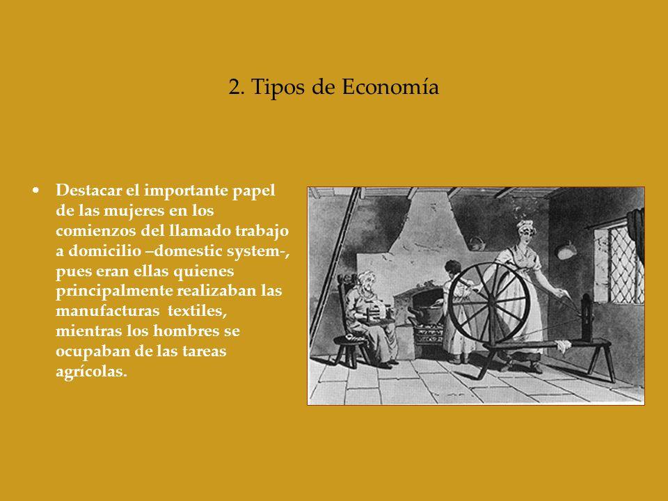 2. Tipos de Economía
