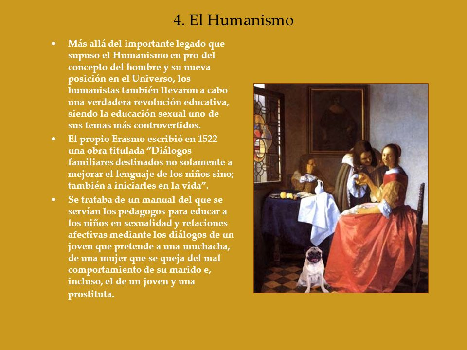4. El Humanismo
