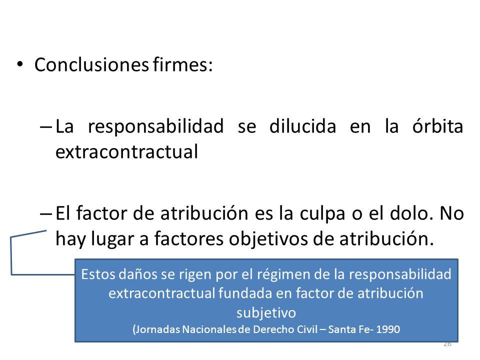 (Jornadas Nacionales de Derecho Civil – Santa Fe- 1990